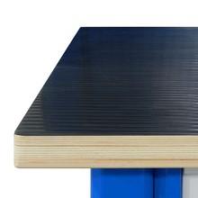 Pokrycie blatu stołu warsztatowego gumą ryflowaną olejoodporną - dopłata