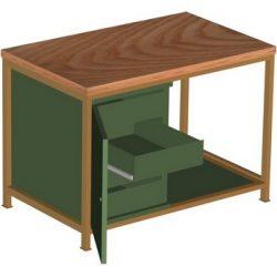 Stół warsztatowy STW 401