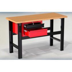 Stół warsztatowy N-3-02-01 - z szafką (2 szuflady)