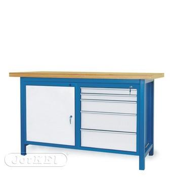 Stół warsztatowy 2-20-11 – Jotkel HSS 03 : 1 szafka S12 : 1 szafka S13