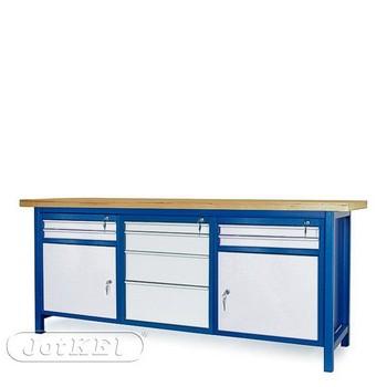 Stół warsztatowy 2-21-22 – Jotkel HSS 04 : 2 szafki S11 : 1 szafka S14