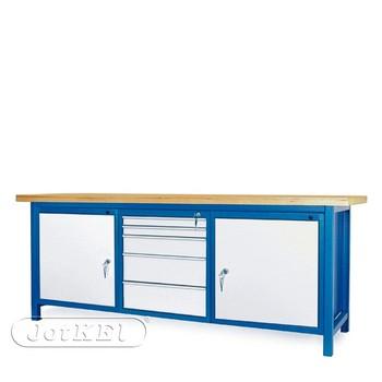 Stół warsztatowy 2-21-24 – Jotkel HSS 04 : 2 szafki S12 : 1 szafka S13