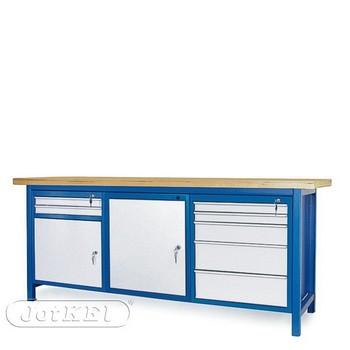 Stół warsztatowy 2-21-32 – Jotkel HSS 04 : 1 szafka S11 : 1 szafka S12 : 1 szafka S13