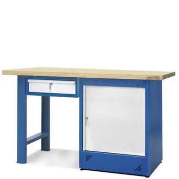 Stół warsztatowy 2-24-05 – Jotkel HSS 07 : 1 szuflada : 1 szafka H11
