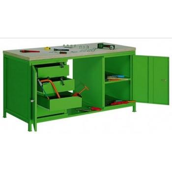 Stół warsztatowy STW-402 – Malow szerokości 1600 mm